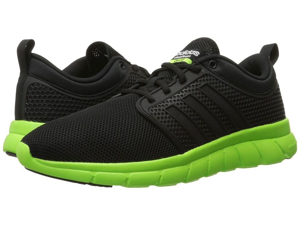 adidas - Cloudfoam Groove (Core Black/Core Black/White) Men's Running Shoes