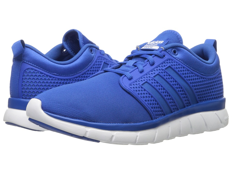 adidas - Cloudfoam Groove (Blue/Blue/White) Men's Running Shoes