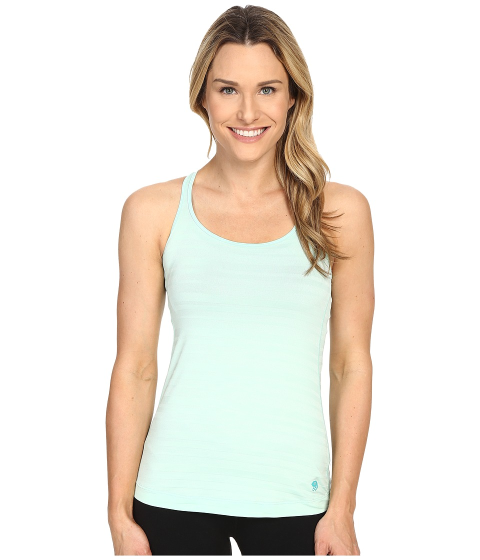 Mountain Hardwear - Mighty Striped Tank (Sea Ice) Women's Sleeveless