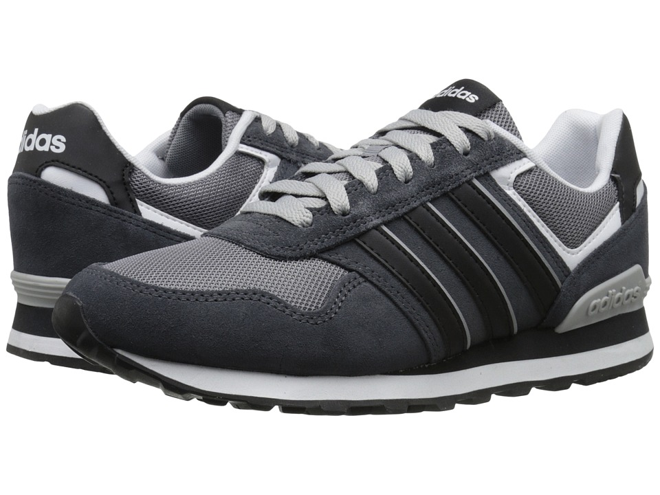 adidas - 10K (Grey/Core Black/DGH Solid Grey) Men's Running Shoes