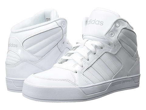 adidas - BBNEO Raleigh Mid (White/White/White) Men's Shoes