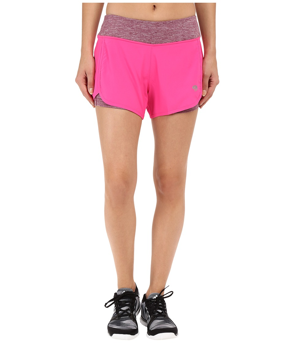 Mountain Hardwear - Pacer 2-in-1 Short (Pink Burst) Women's Shorts