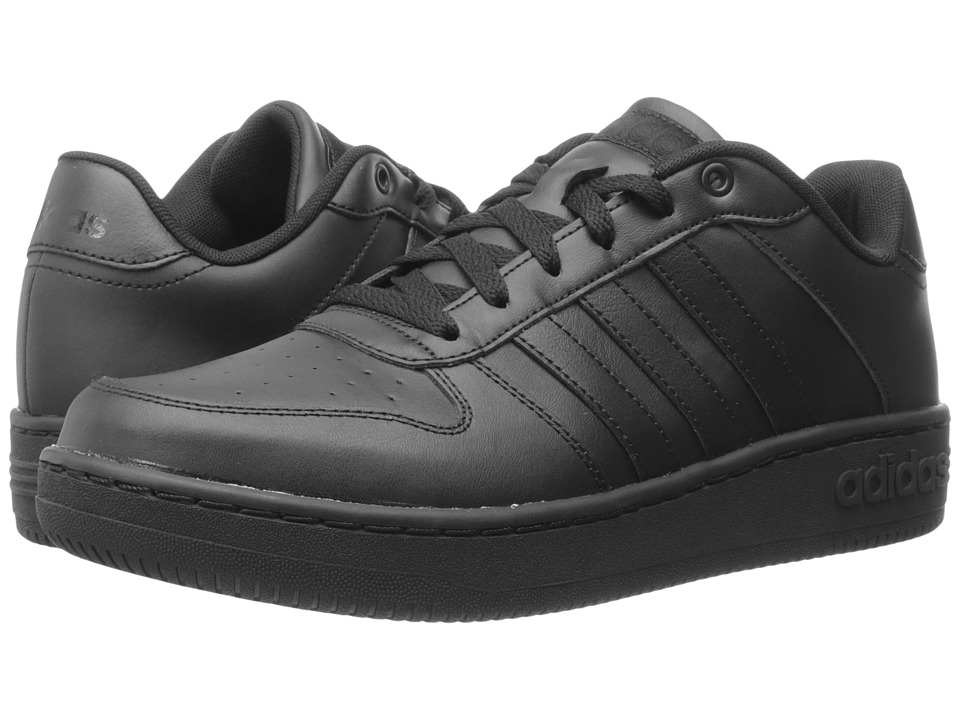 adidas - Team Court (Black/Black/Black) Men