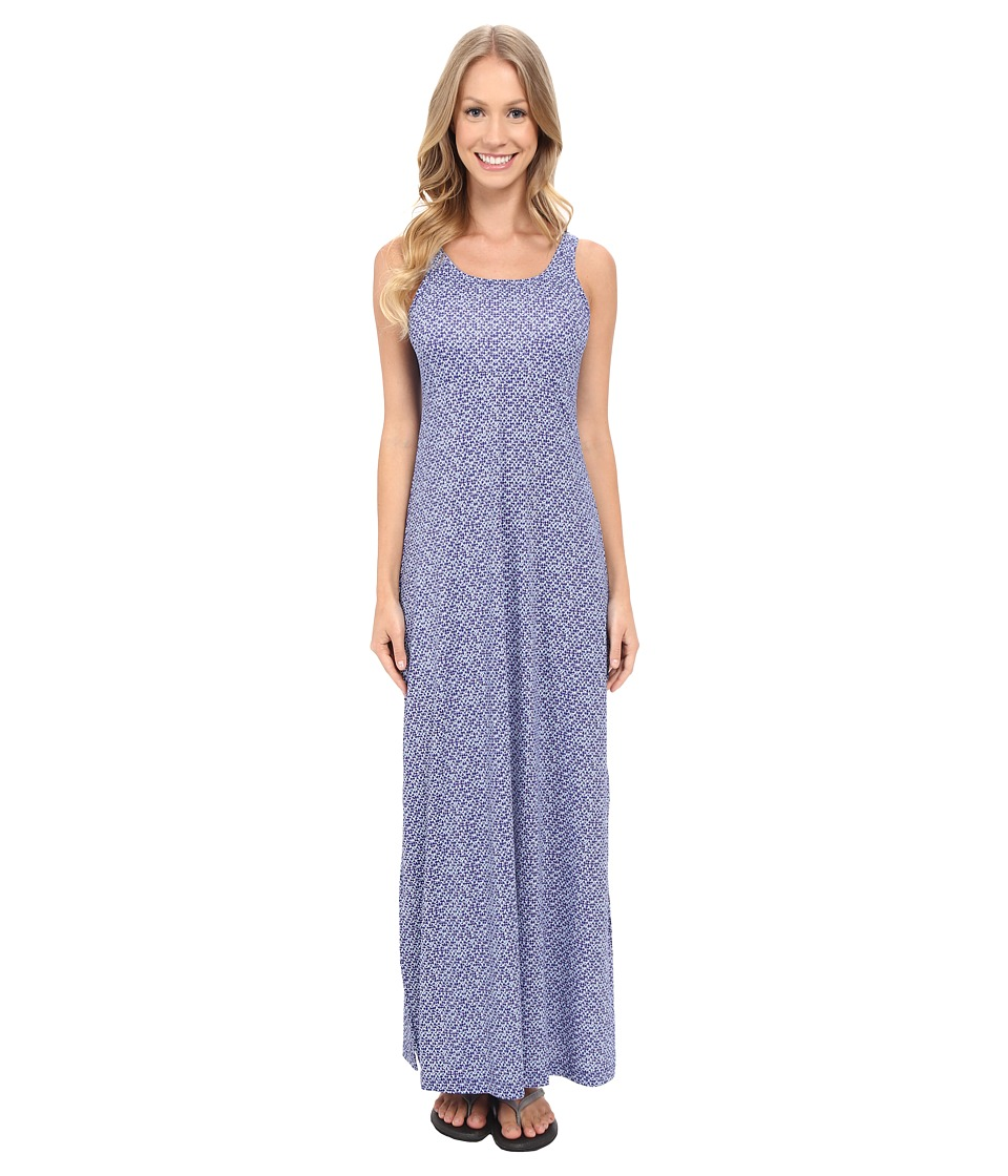 Columbia - Freezer Maxi Dress (Ocean Water Mosaic Dot) Women's Dress