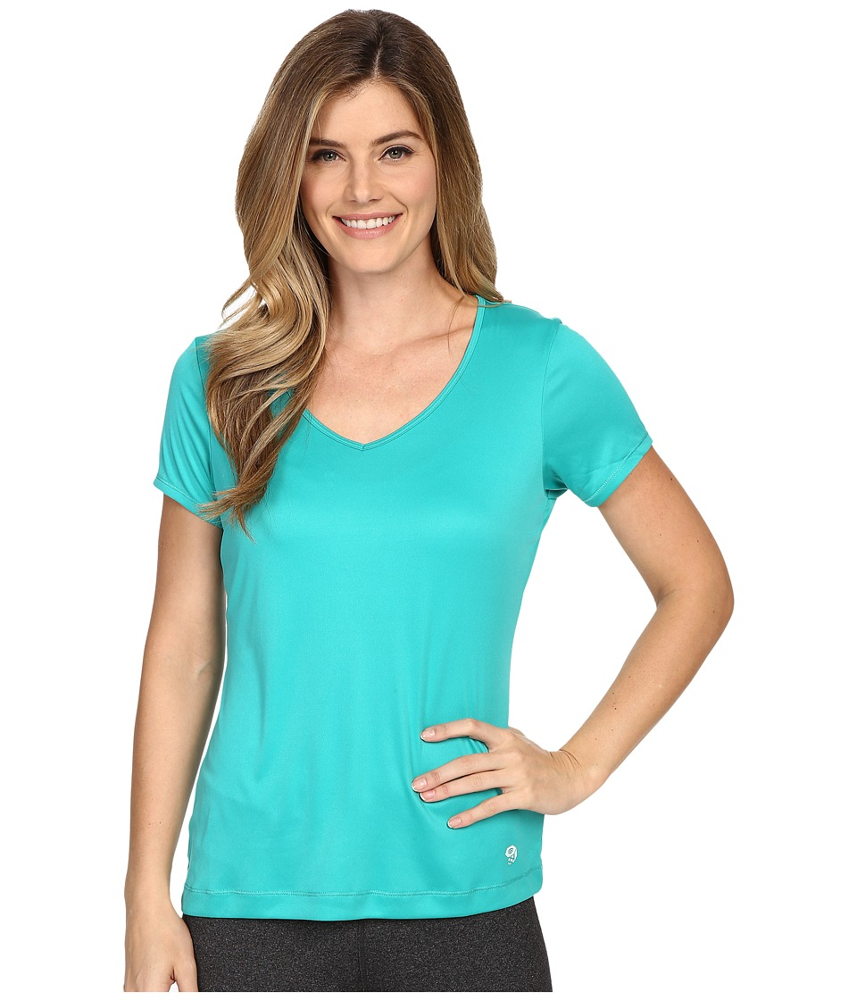 Mountain Hardwear - Wicked Short Sleeve Tee (Glacier Green) Women's Short Sleeve Pullover