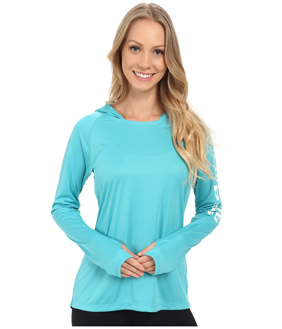 Columbia - Tidal Tee Hoodie (Miami/White) Women's Sweatshirt
