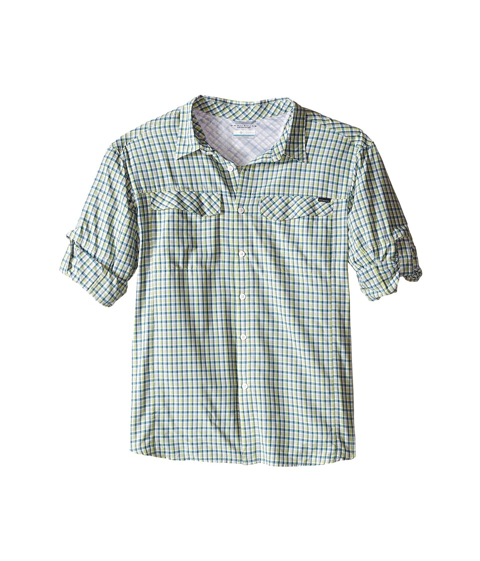Columbia - Silver Ridge Plaid L/S - Big (Napa Green Ripstop Plaid) Men's Long Sleeve Button Up