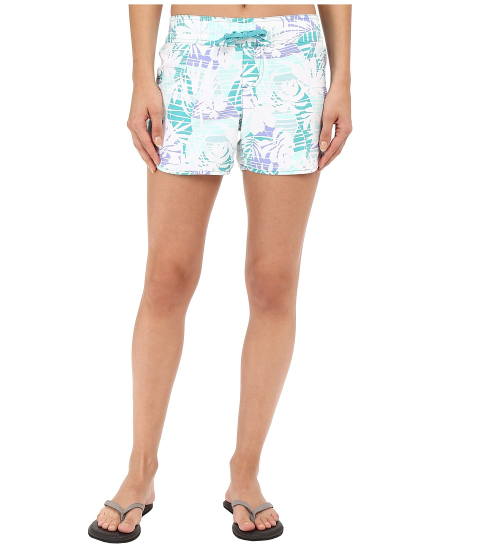 Columbia - Cool Coast II Shorts (Miami Palm Print) Women's Shorts