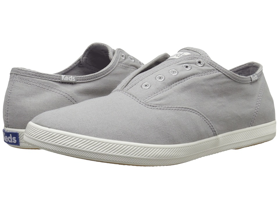 Keds Champion Chillax Washed Twill (Drizzle Grey) Men