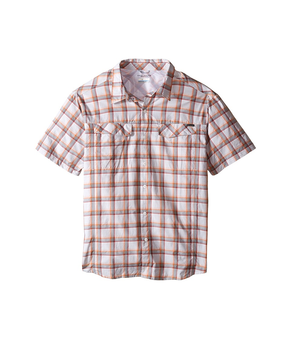 Columbia - Silver Ridge Multi Plaid S/S Shirt - Big (Columbia Grey Heather Plaid) Men's Short Sleeve Button Up