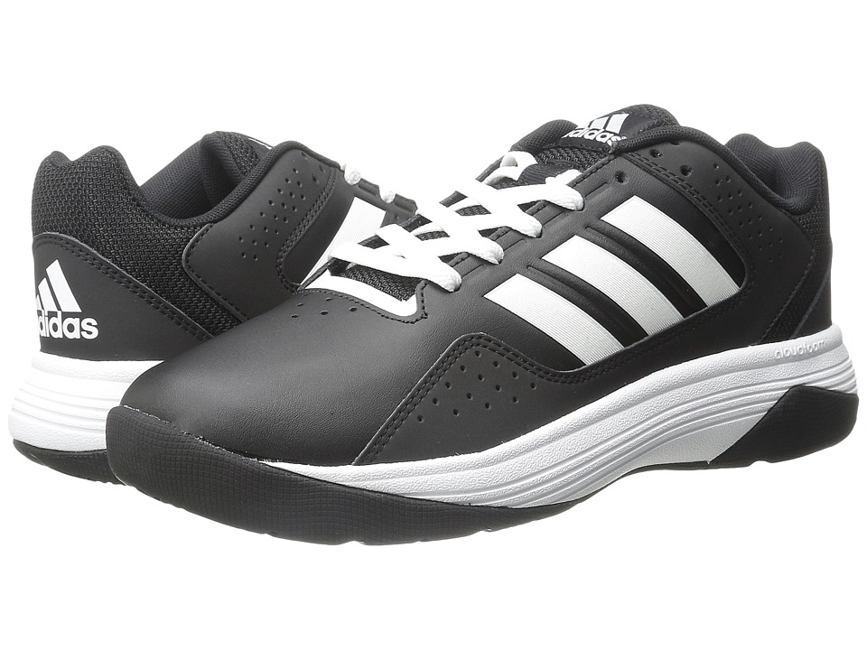 adidas - Cloudfoam Ilation (Core Black/White/White) Men's Basketball Shoes