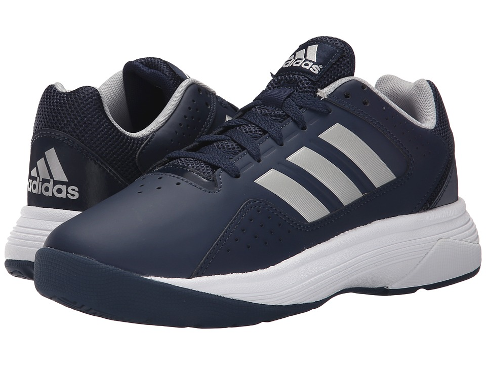 adidas - Cloudfoam Ilation (Collegiate Navy/Matte Silver/Matte Silver) Men's Basketball Shoes