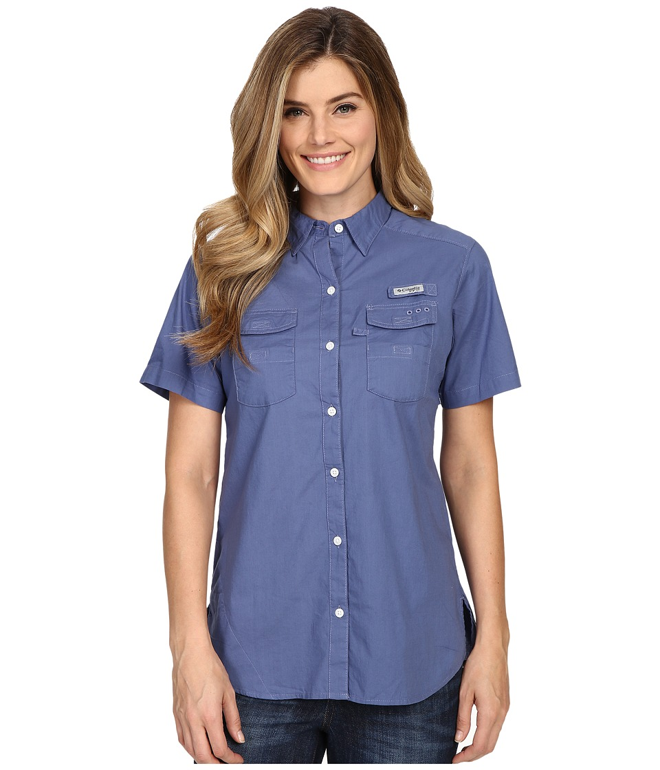 Columbia - Bonehead II S/S Shirt (Bluebell) Women's Short Sleeve Button Up