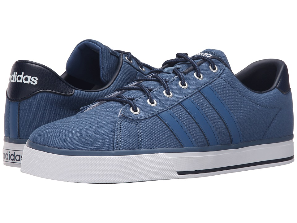 adidas Daily (Ash Blue/Ash Blue/White) Men