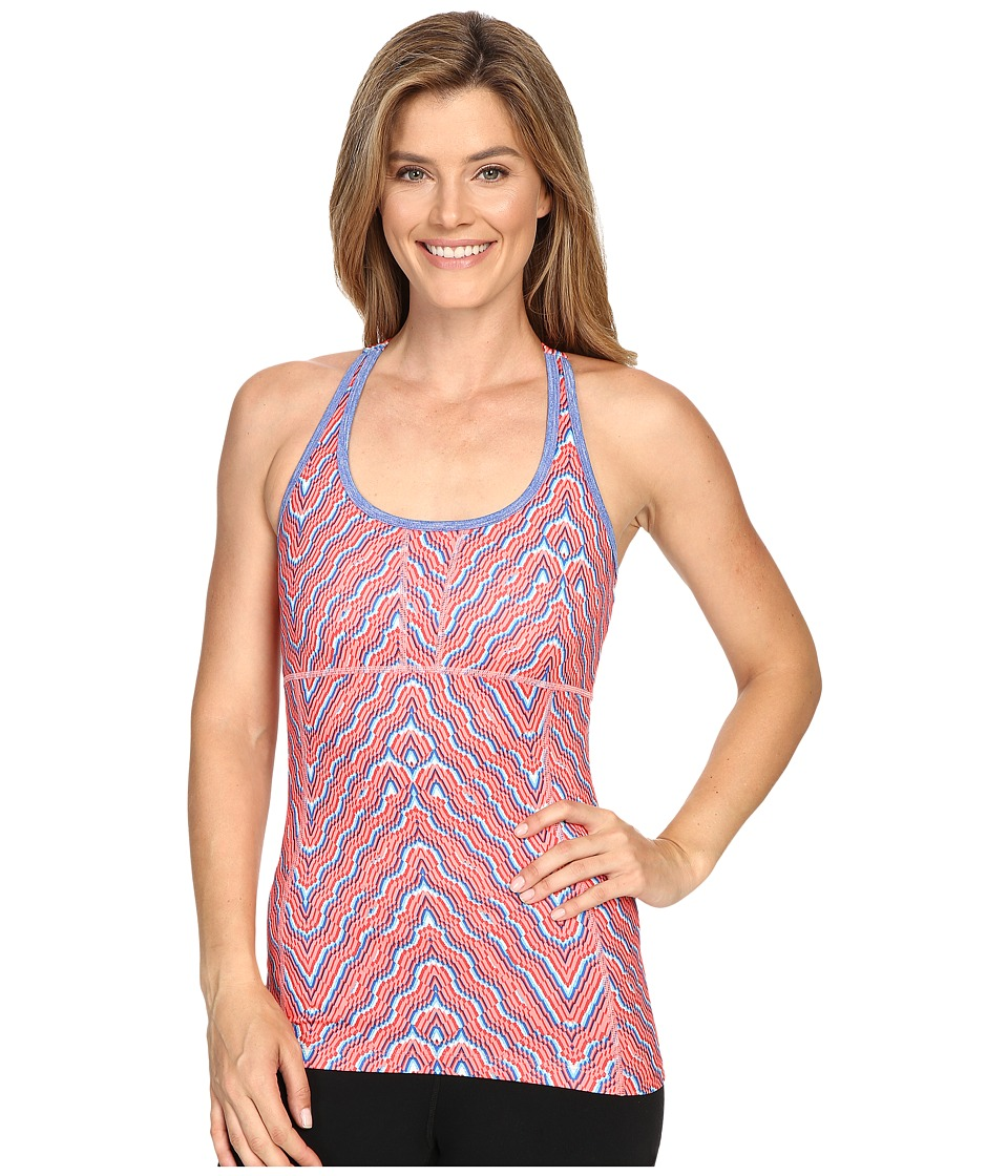 Mountain Hardwear Mighty Activatm Printed Tank Top (Coralescent) Women