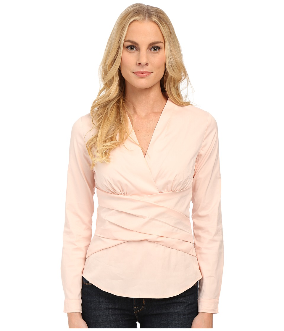 NYDJ - Fit Solution Wrap Top (Peony Blush) Women's Clothing