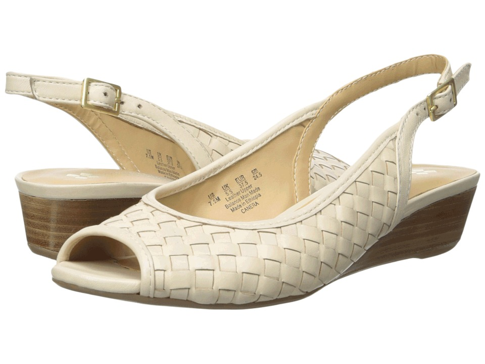 Naturalizer - Canera (Ivory Leather) Women's Sling Back Shoes