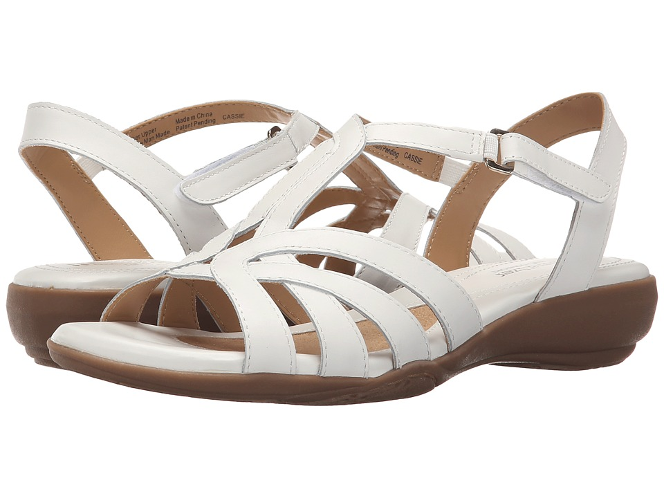 Naturalizer Cassie (White Leather) Women
