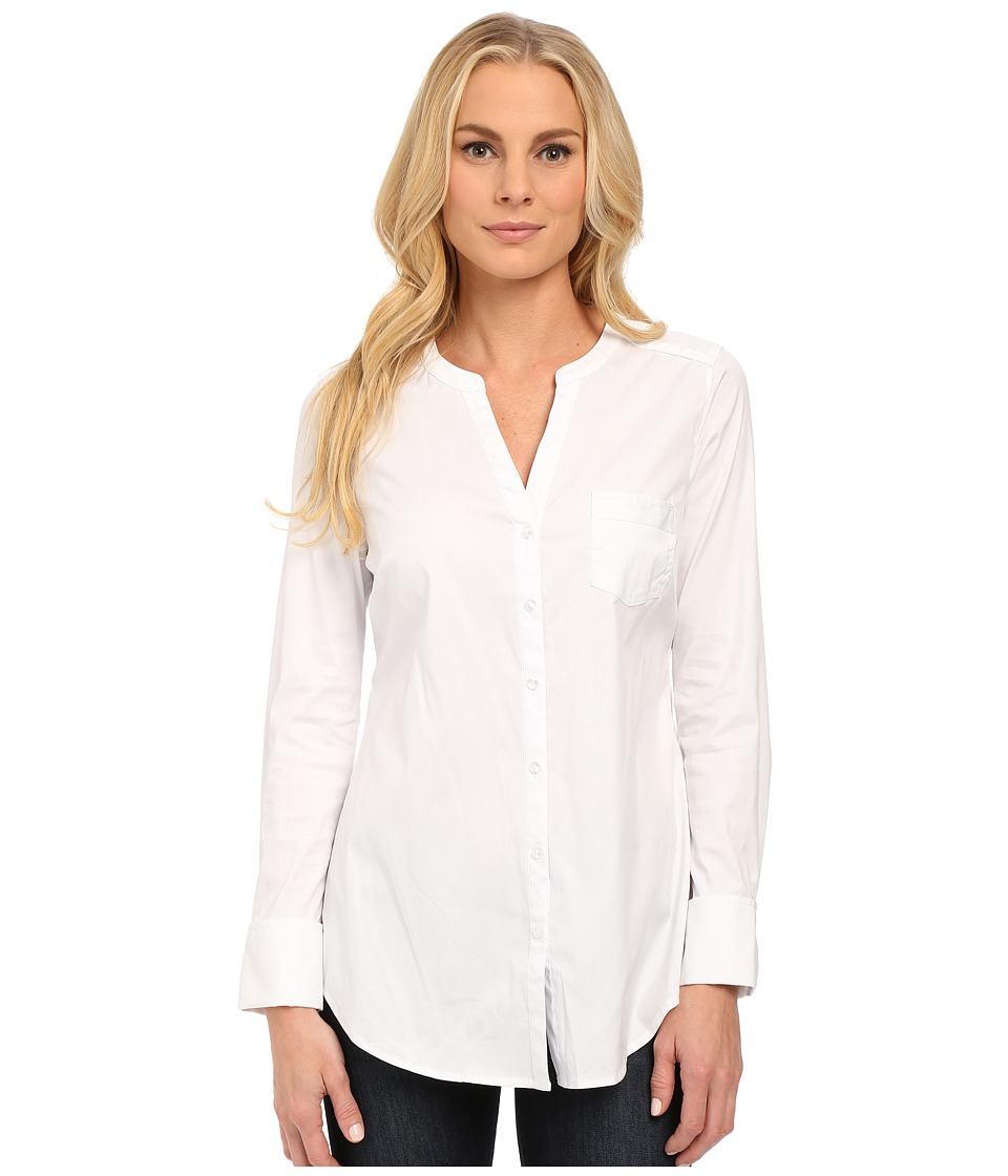NYDJ - Fit Solutions Cotton Dobby Tunic (Optic White) Women