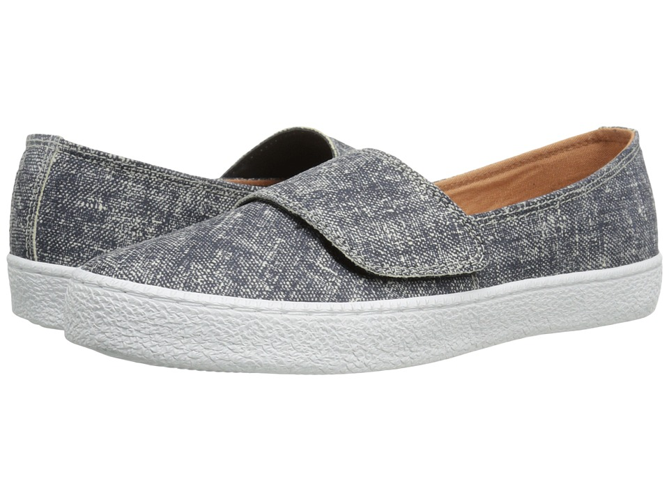 Corso Como - Lowes (Blue Suede Denim) Women's Slip on Shoes