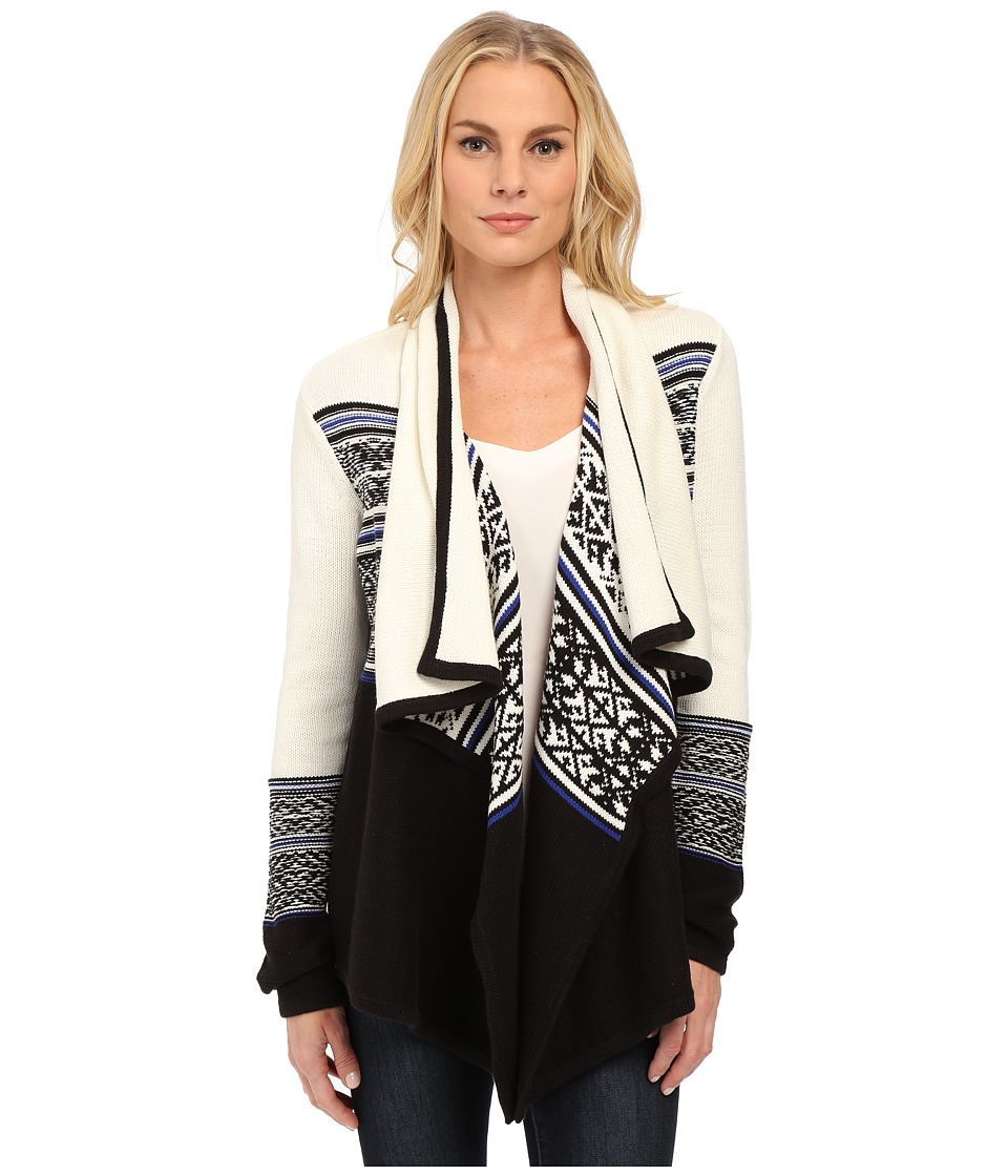 NYDJ - Apres Jacquard Cardigan (Velvet Slipper) Women's Sweater