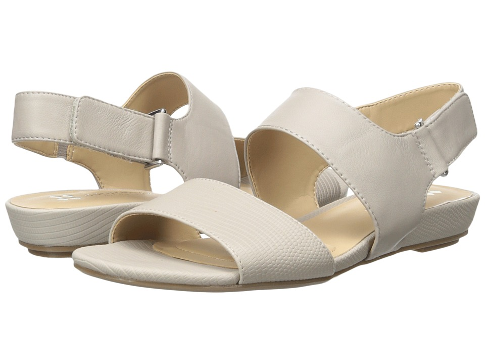 Naturalizer - Lanna (Grey Smooth/Foggy Grey Printed Lizard) Women's Sling Back Shoes