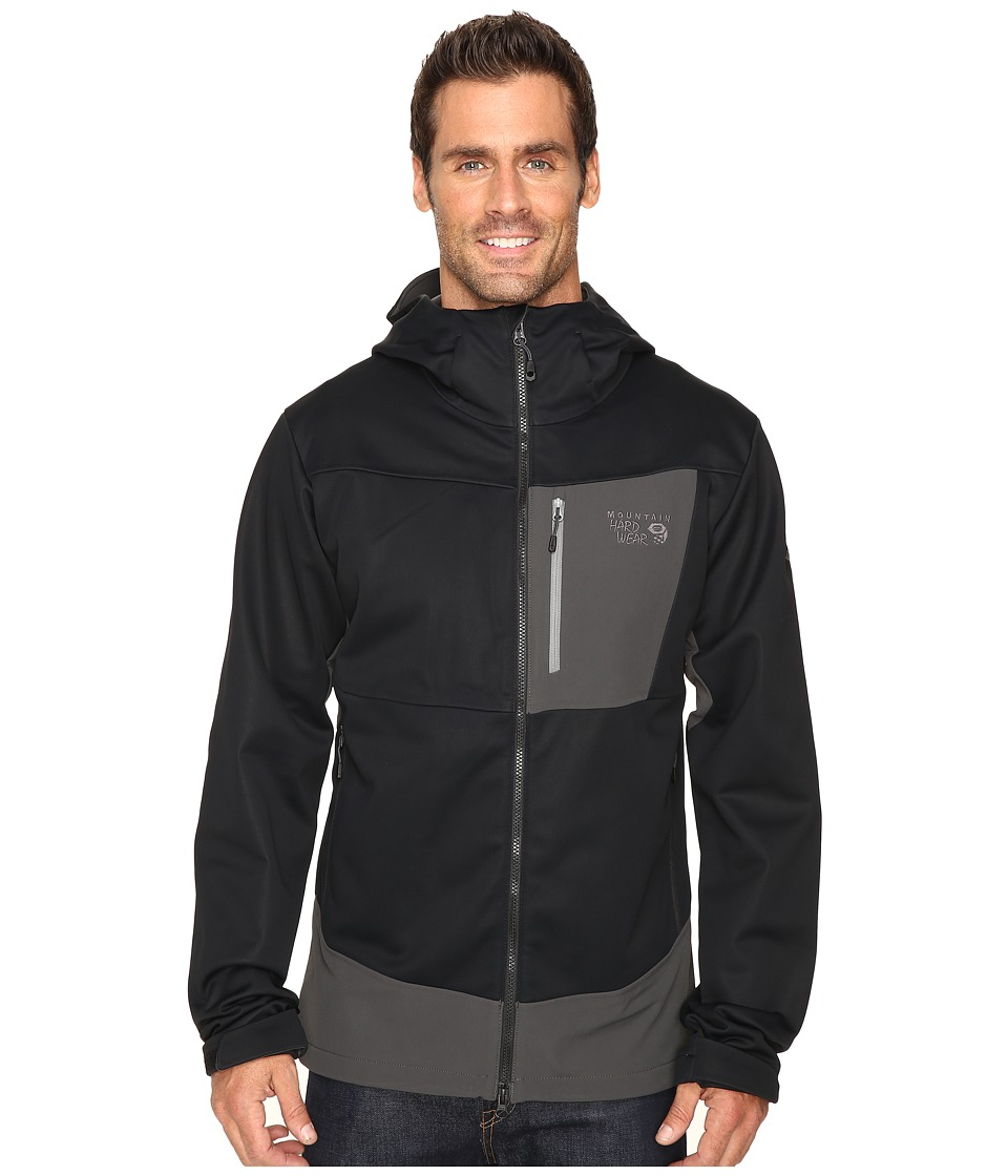 Mountain Hardwear - Dragon Hooded Jacket (Black) Men's Jacket