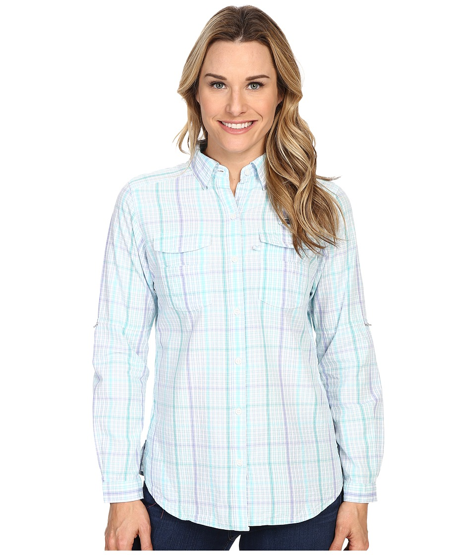 Columbia - Super Bonehead II L/S Shirt (Miami Plaid) Women's Long Sleeve Button Up