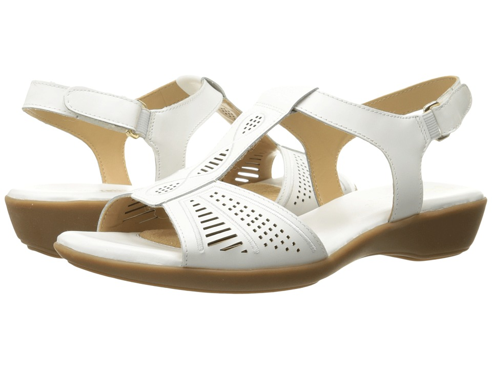 Naturalizer - Network (White Leather) Women's Sling Back Shoes