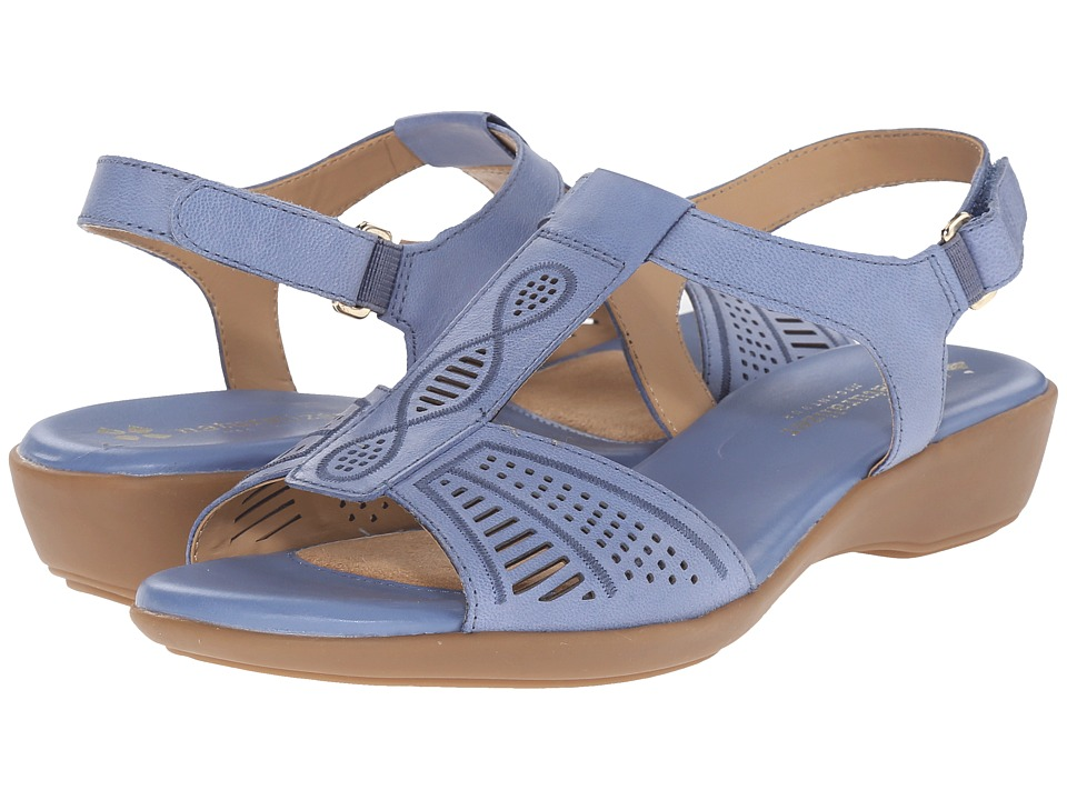 Naturalizer - Network (Ocean Blue Leather) Women's Sling Back Shoes