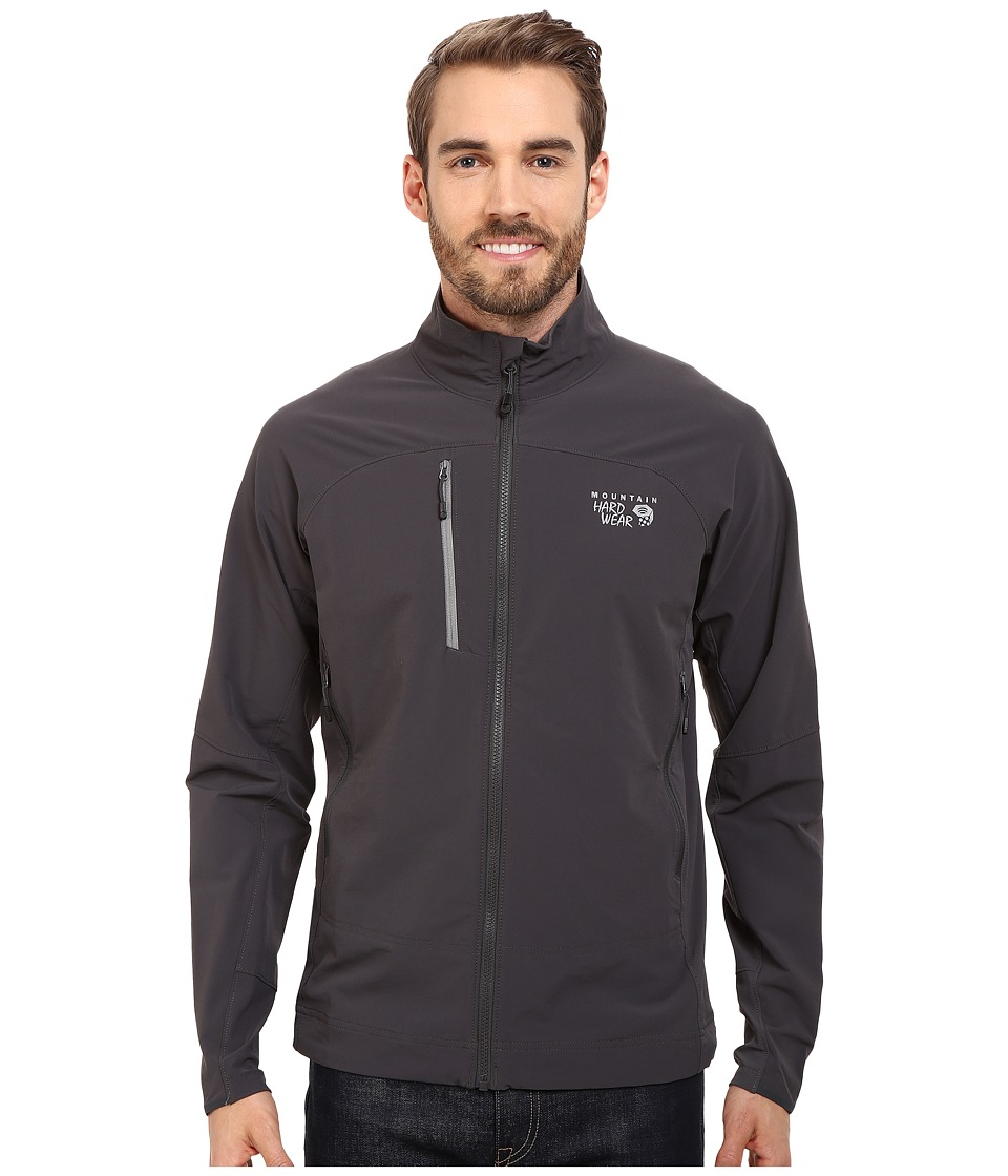 Mountain Hardwear - Super Chockstone Full Zip Jacket (Shark & Titanium) Men's Jacket