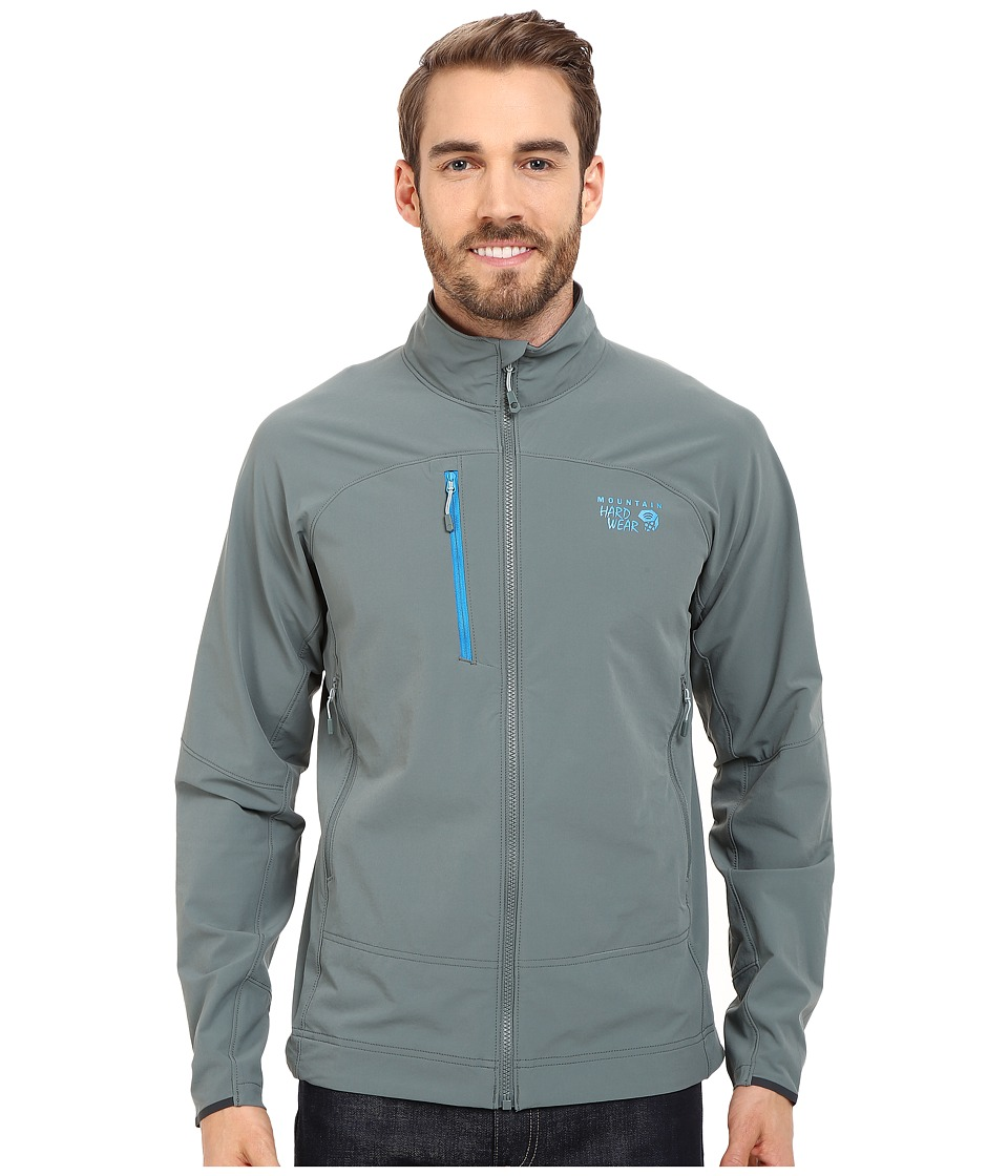Mountain Hardwear - Super Chockstone Full Zip Jacket (Thunderhead Grey) Men's Jacket