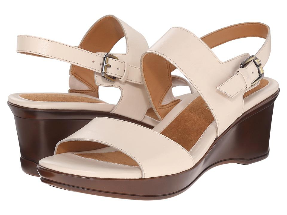 Naturalizer - Vibrant (Procelain Skin Leather) Women's Sling Back Shoes