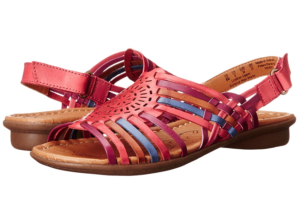 Naturalizer - Wendy (Coral Multi Leather) Women's Sandals