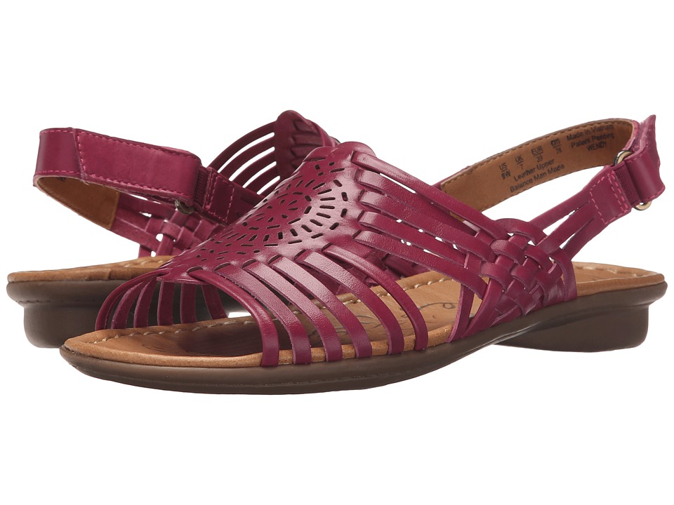 Naturalizer - Wendy (Raspberry Pop Leather) Women's Sandals