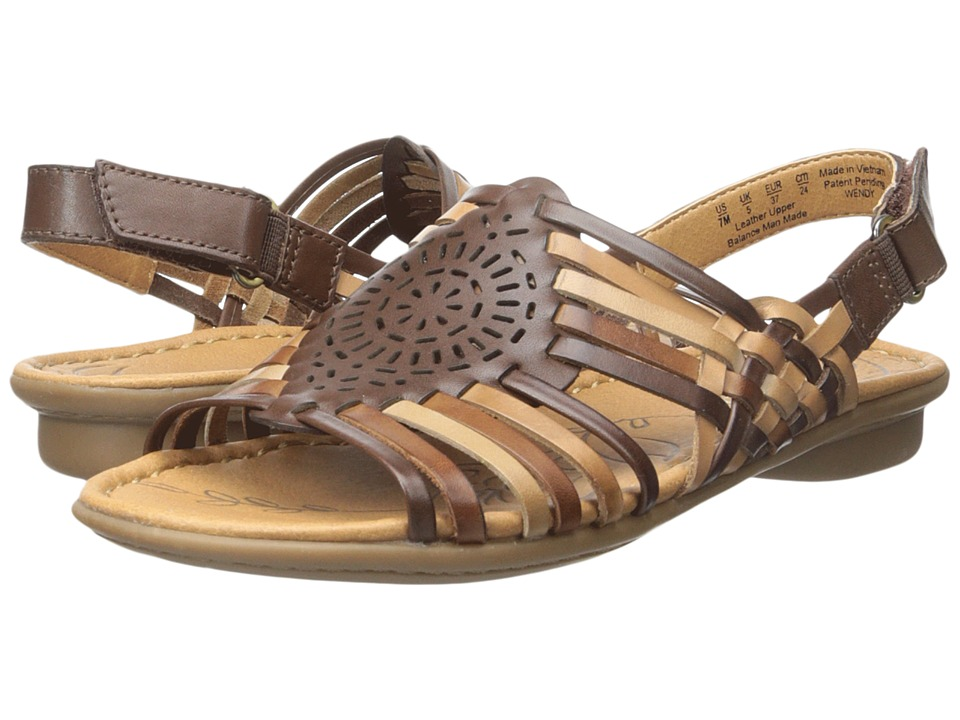 Naturalizer - Wendy (Brown Multi Leather) Women's Sandals