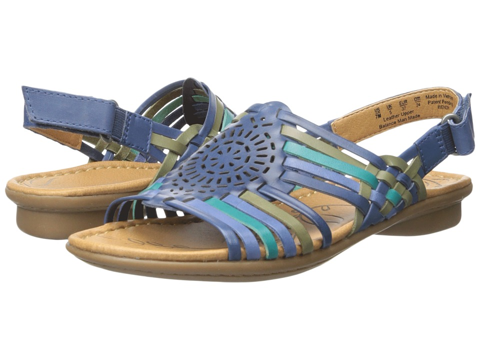 Naturalizer - Wendy (Blue Multi Leather) Women's Sandals