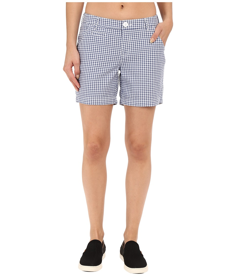 Columbia - Super Bonehead II Short (Bluebell Gingham) Women's Shorts