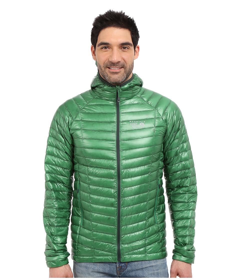 Mountain Hardwear - Ghost Whisperer Hooded Down Jacket (Serpent Green) Men's Coat