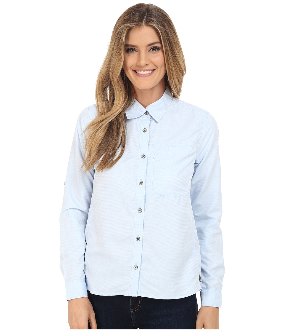 Mountain Hardwear - Canyon Long Sleeve Shirt (Frosted Blue) Women's Long Sleeve Button Up