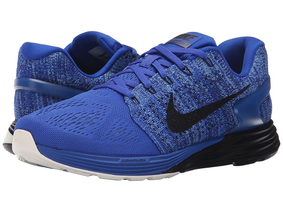 Nike - Lunarglide 7 (Racer Blue/Sail/Deep Royal Blue/Black) Men's Running Shoes