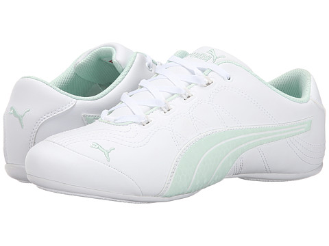 PUMA - Soleil v2 Comfort Fun (White/Bay) Women's Shoes