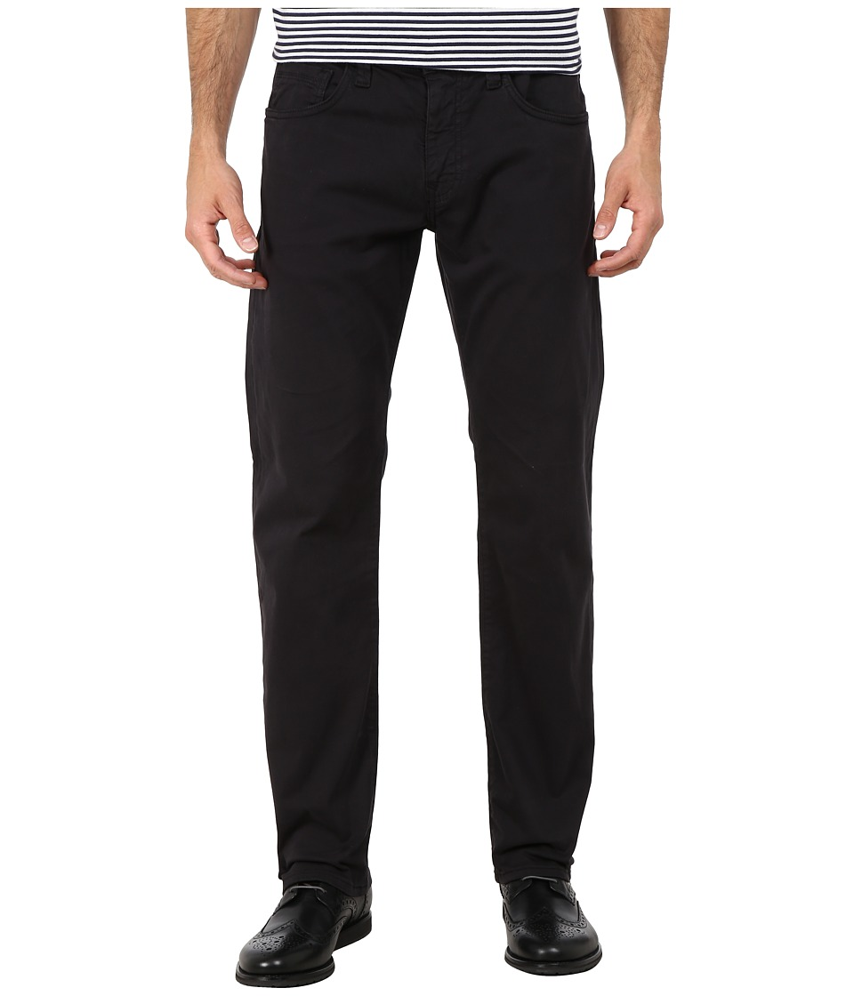 Mavi Jeans - Zach Regular Rise Straight Leg in Coal Twill (Coal Twill) Men's Jeans