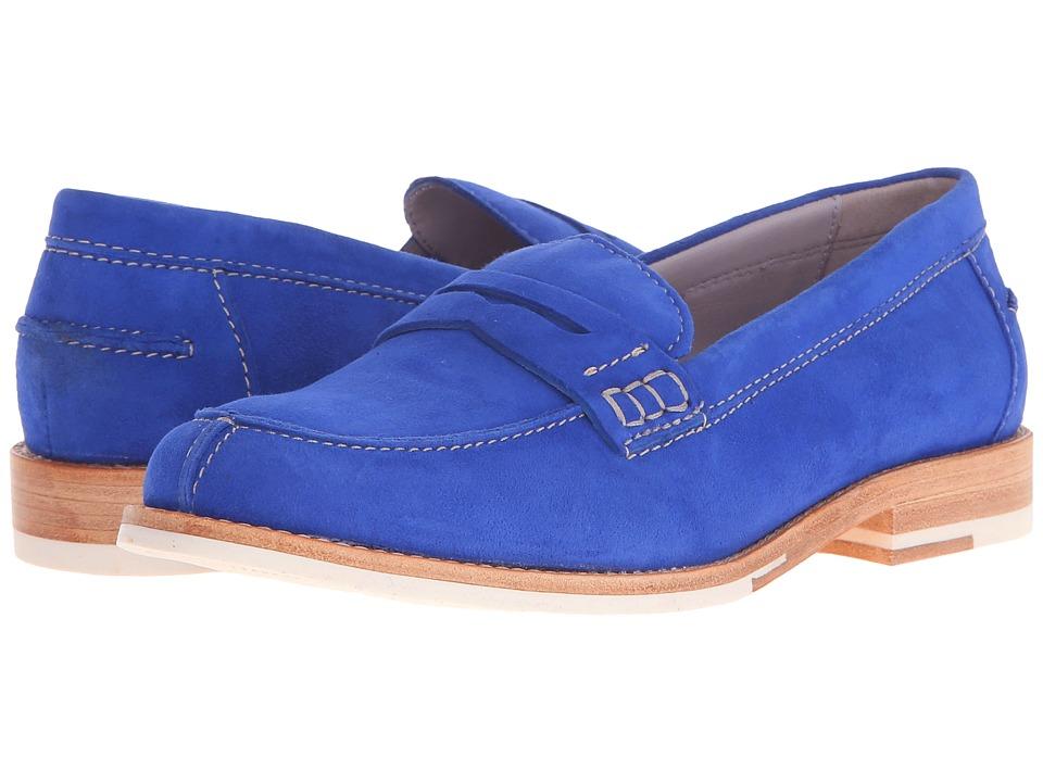 Johnston & Murphy - Gwynn (Blue Italian Suede) Women's Shoes