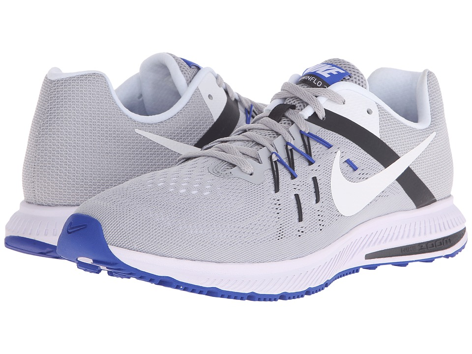 Nike - Zoom Winflo 2 (Wolf Grey/Anthracite/Racer Blue/White) Men's Running Shoes
