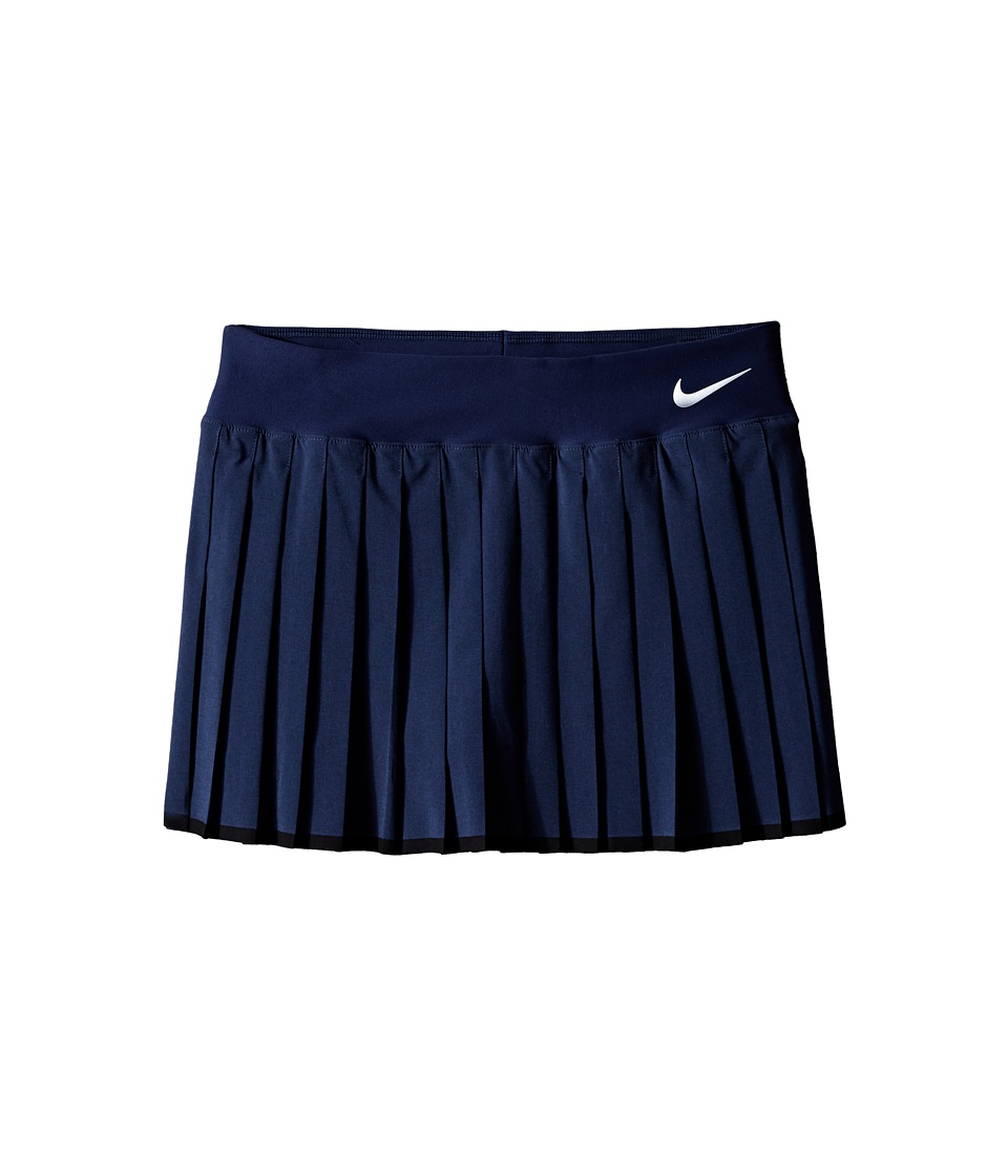 Nike Kids - Victory Skirt (Little Kids/Big Kids) (Midnight Navy/Black/White) Girl's Skirt