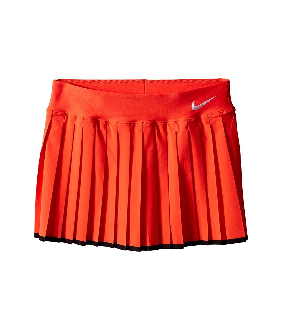 Nike Kids - Victory Skirt (Little Kids/Big Kids) (Light Crimson/Black/White) Girl's Skirt