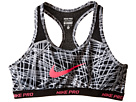 Pro Hypercool Allover Print 1 Sports Bra