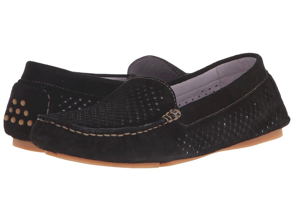 Johnston & Murphy - Maureen (Black Kid Suede) Women's Shoes