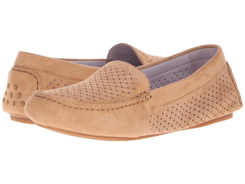 Johnston & Murphy - Maureen (Latte Kid Suede) Women's Shoes